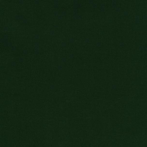 Hunter Green Kona Cotton by Robert Kaufman