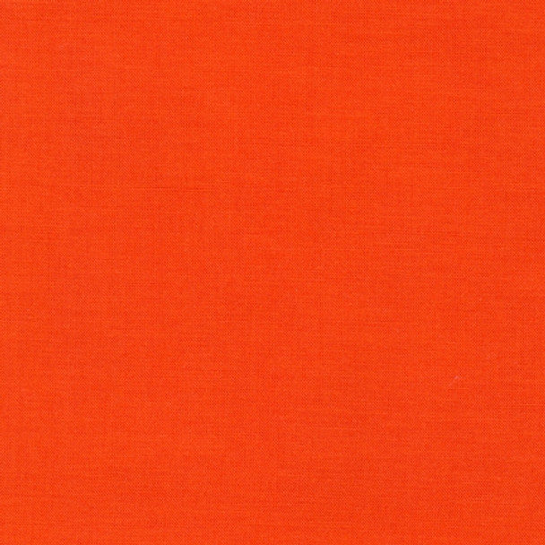 Tangerine Kona Cotton by Robert Kaufman