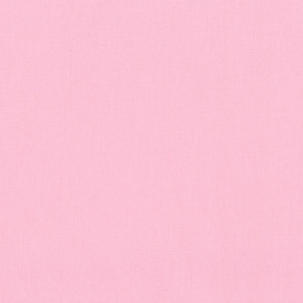 Baby Pink Kona Cotton by Robert Kaufman