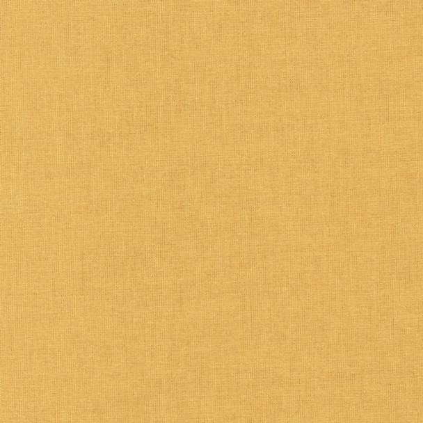 Butterscotch Kona Cotton by Robert Kaufman