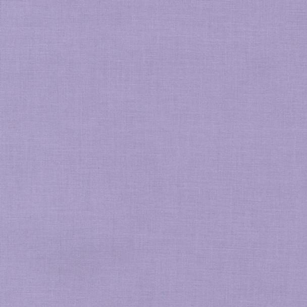 Lilac Kona Cotton by Robert Kaufman