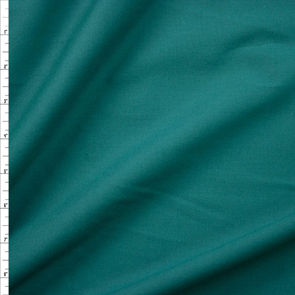 Teal Cotton Lawn Fabric By The Yard