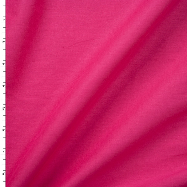 Hot Pink Cotton Lawn Fabric By The Yard