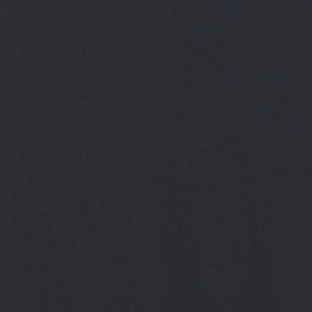 Charcoal Kona Cotton Solid Fabric by Robert Kaufman