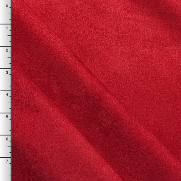 Red Upholstery Suede