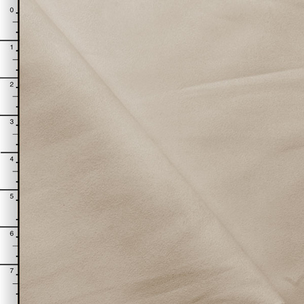 Ivory Upholstery Suede
