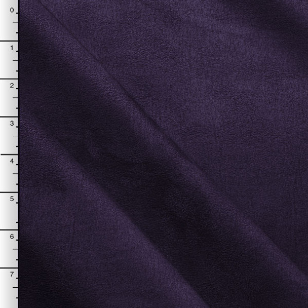 Plum Upholstery Suede