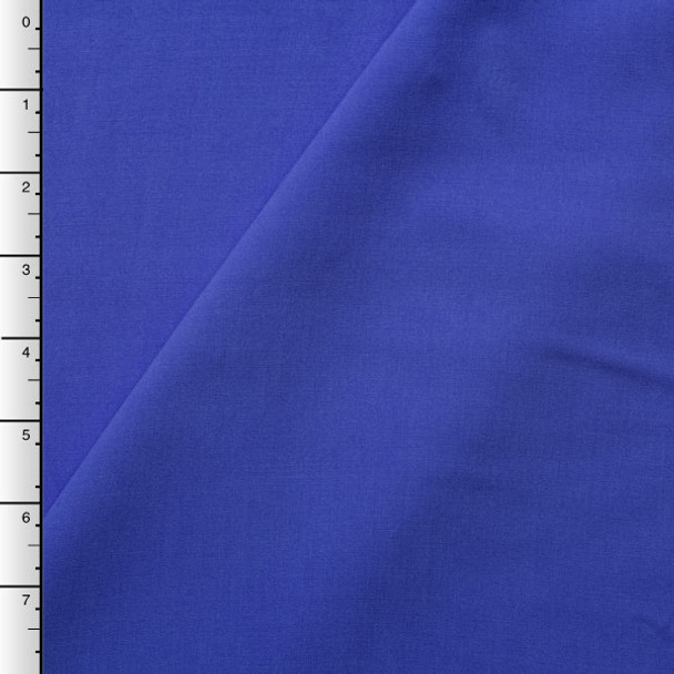 Royal Blue Rayon Challis
