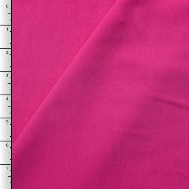 Hot Pink Rayon Challis