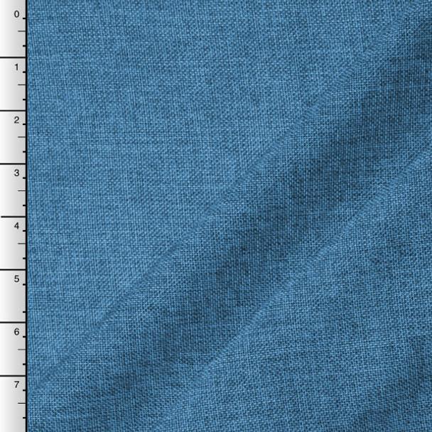Turquoise Vintage Linen Look