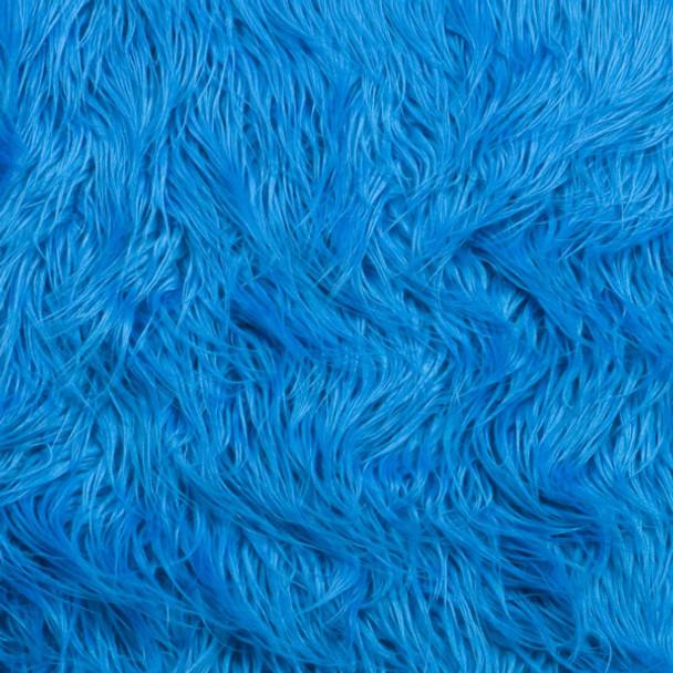 Turquoise Mongolian Faux Fur