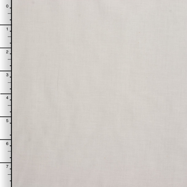 44 Bleached White Cotton Muslin