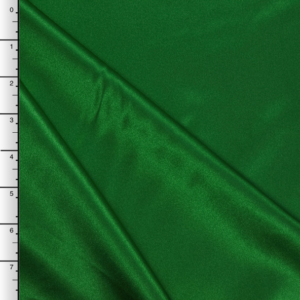 Flag Green Midweight Bridal Satin