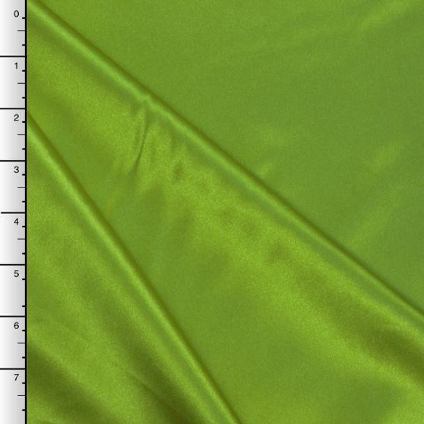 Lime Green Midweight Bridal Satin