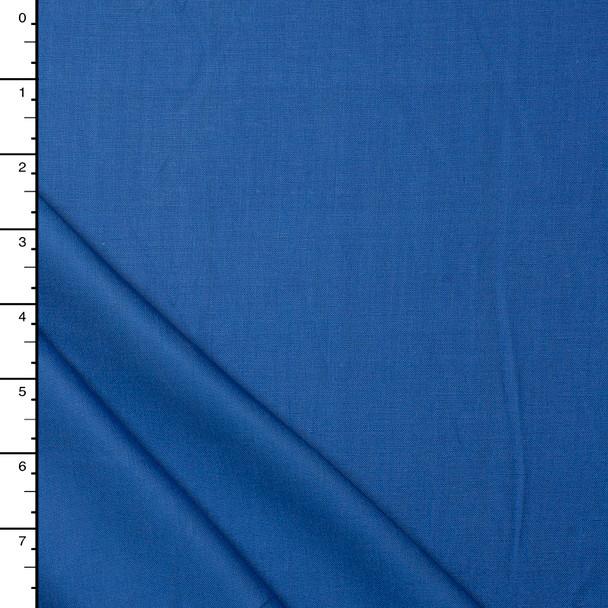 Bright Blue Linen Look