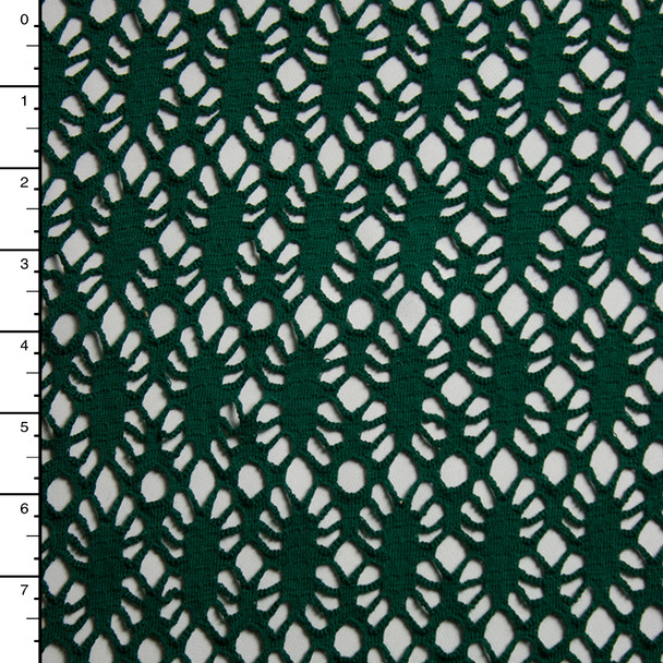 Hunter Green Patterned Net #15339