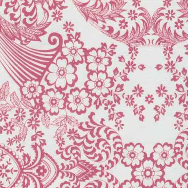 """Paradise Lace"" Pink Oilcloth"