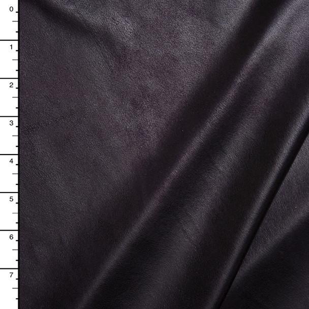 Plum Lightweight Designer Leather Look