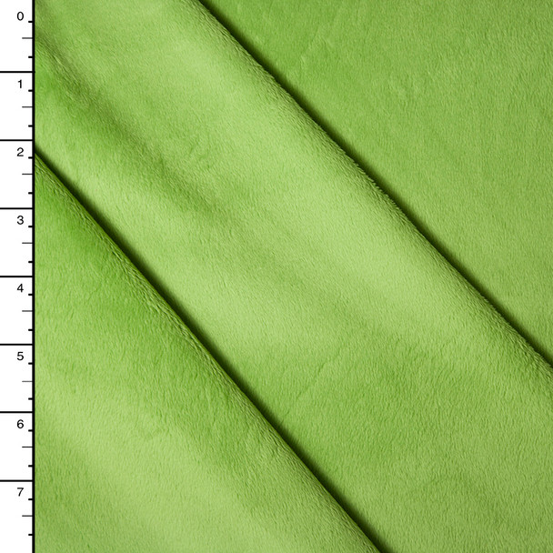 Lime Green Minky Solid