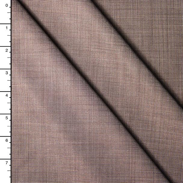 Designer Silk/Wool Stretch Pin Dot Suiting