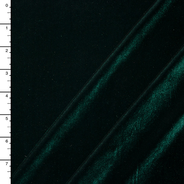 Hunter Green 4-way Stretch Velvet By The Yard