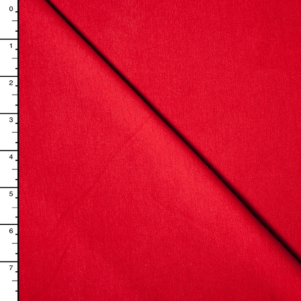 Red Premium Midweight Cotton Lycra Jersey Knit