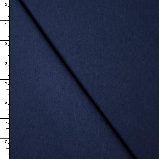 Navy Blue Premium Midweight Cotton Lycra Jersey Knit