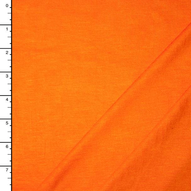 Tangerine Midweight Stretch Rayon Jersey Knit