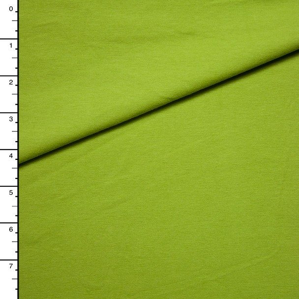 Lime Midweight 4-way Stretch Jersey Knit