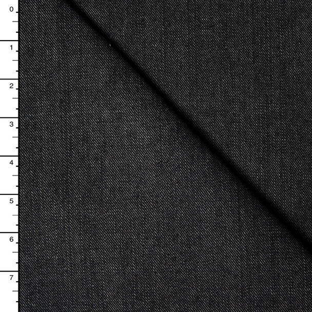 Black Extra-Wide 12oz Denim Fabric