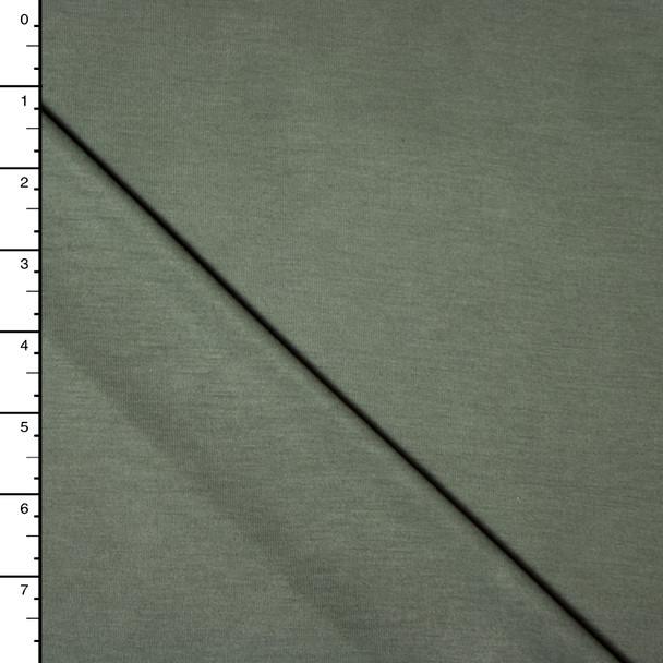 Olive Green Modal Jersey Knit
