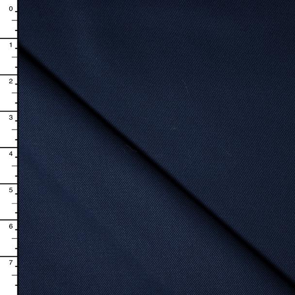Navy Blue Cotton Twill