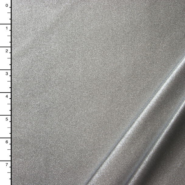 Silver Metallic Nylon/Lycra