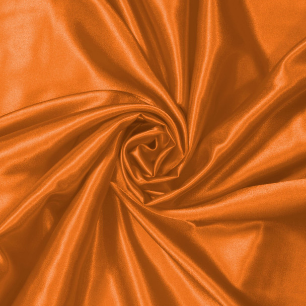 Orange Charmeuse Satin