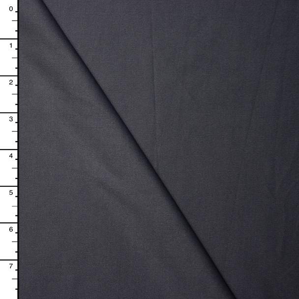 Charcoal Grey Value Interlock Knit