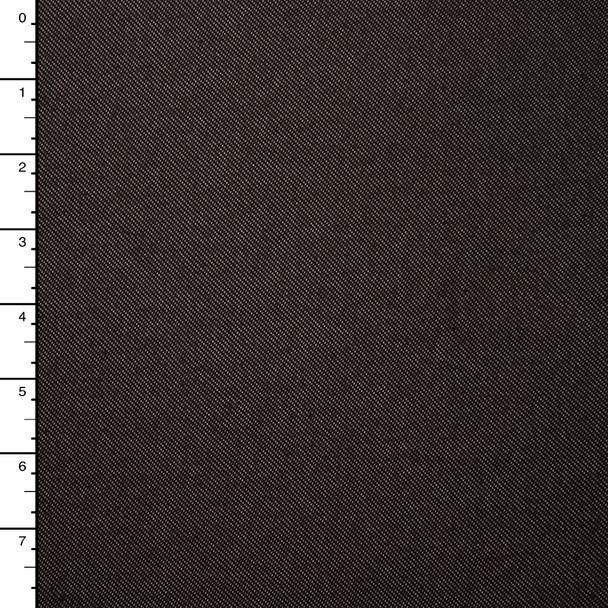 Brown Denim-Look Knit
