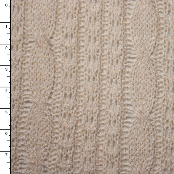 Ivory Cable Sweater Knit