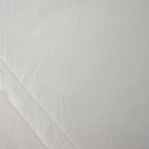 Tissue Weight White Rayon Jersey