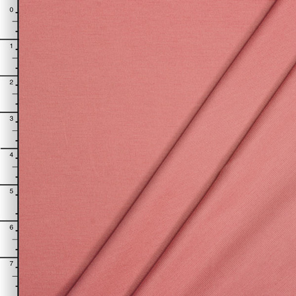 Soft Coral Midweight Stretch Ponte De Roma