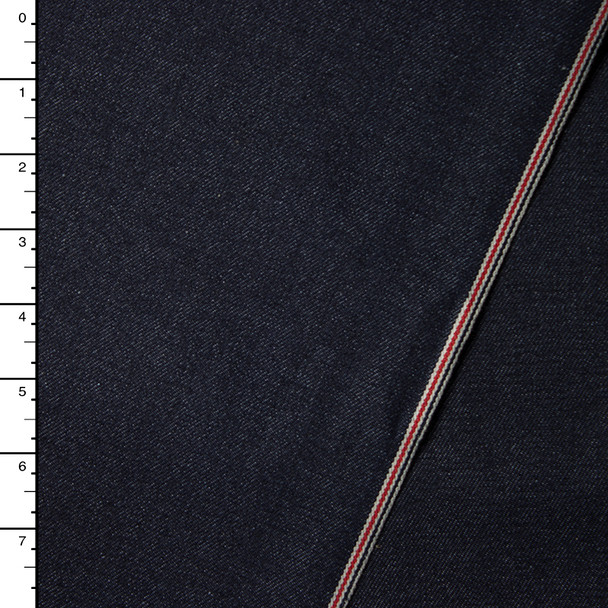 Indigo Selvedge Denim #16004 by Robert Kaufman