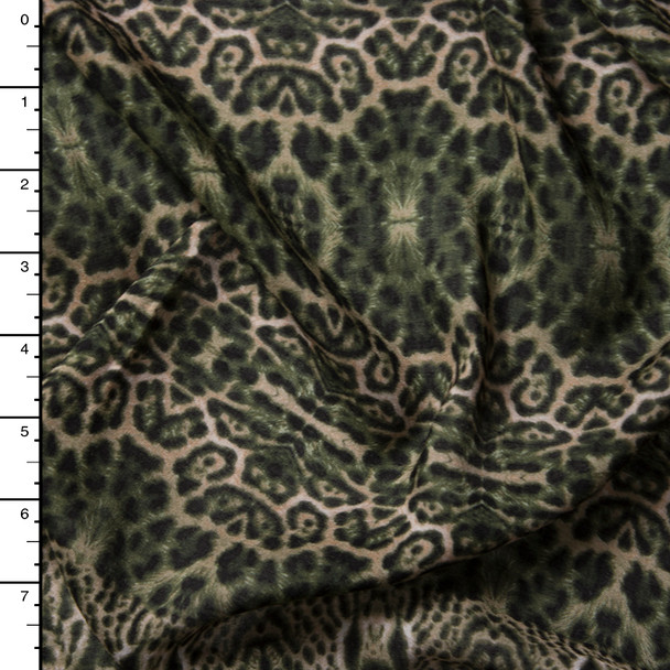 Kaleidoscope Cheetah Rayon Voile Print