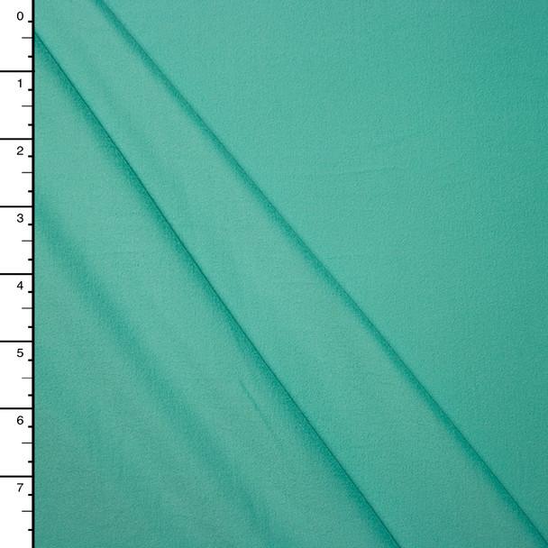 Aqua Double Brushed Poly Spandex Knit