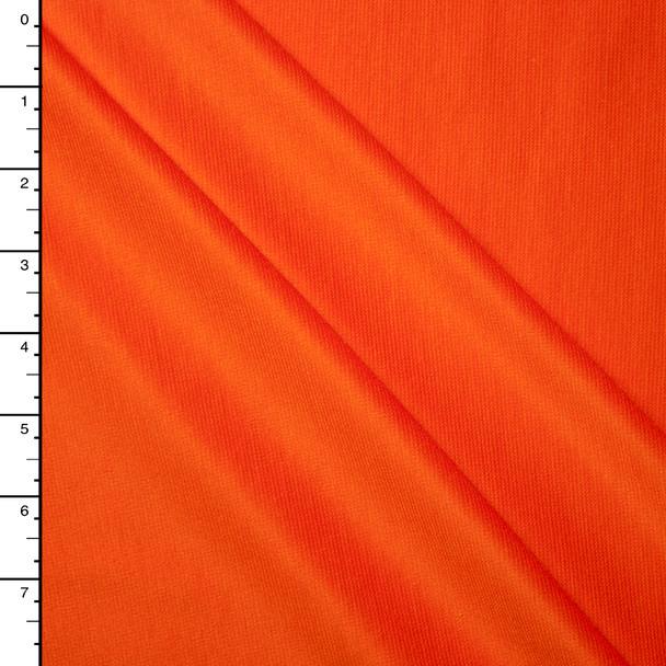 Orange Midweight Stretch Ponte De Roma
