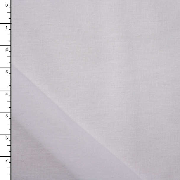 "60"" White Midweight Fusible Woven Interfacing"
