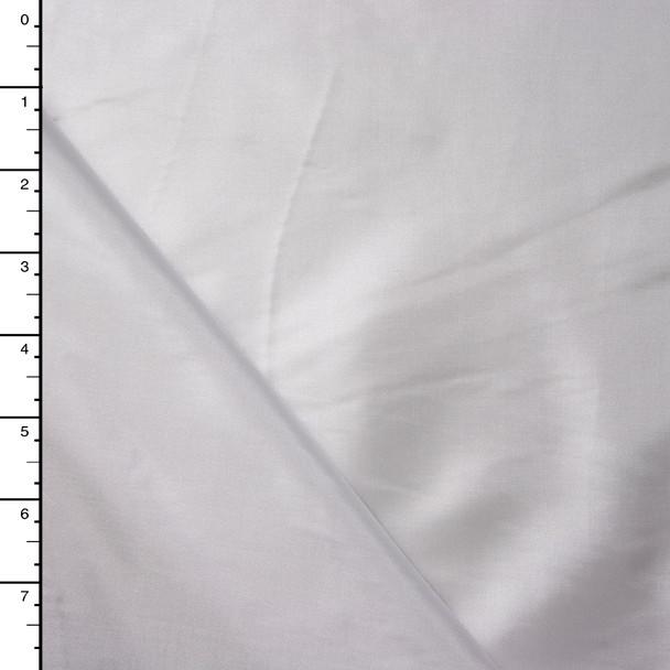 White Poly Habotai Lining