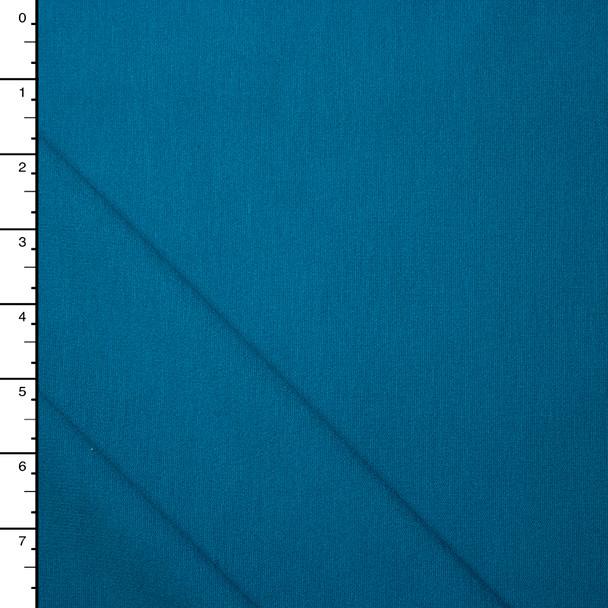 Carribean Blue 4-way Stretch Heavy Ponte De Roma