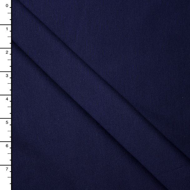 Navy Blue 4-way Stretch Heavy Ponte De Roma