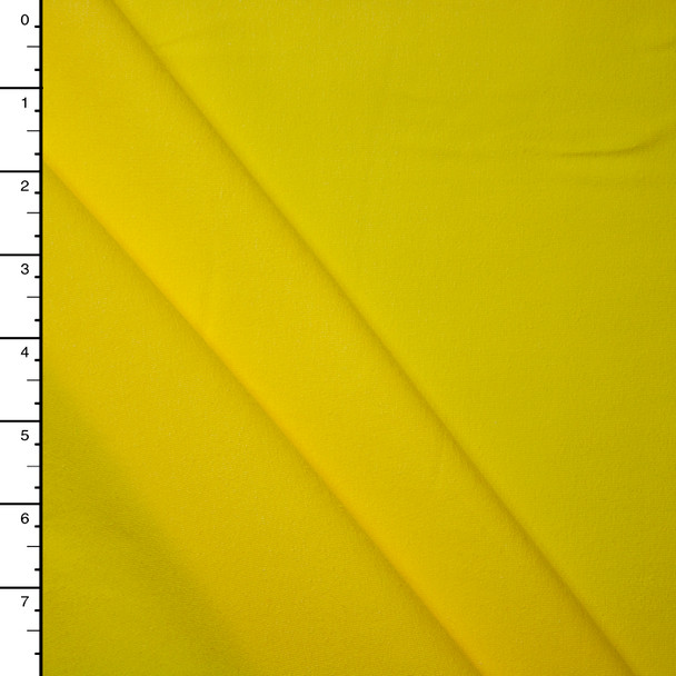 Sunbeam Yellow Midweight 4-Way Stretch Cotton/Lycra