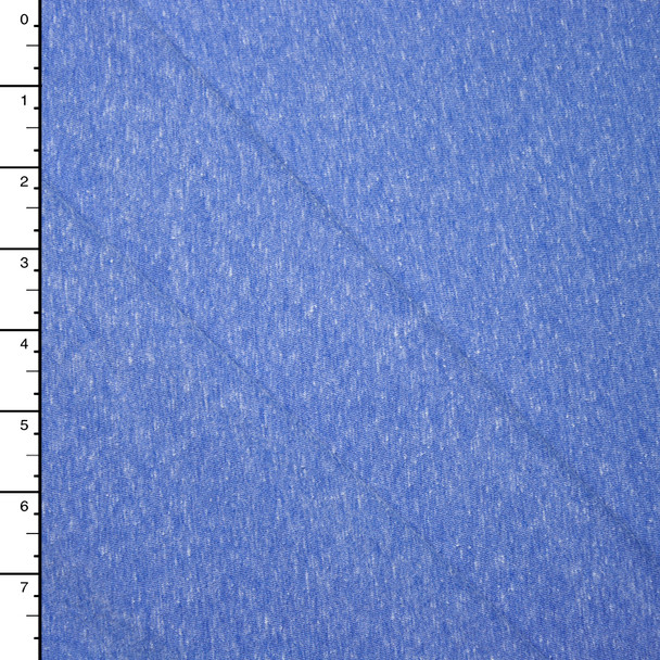 Light Blue Heather Lightweight Jersey Knit Fabric By The Yard