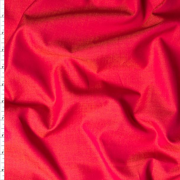 Pomegranate 'Greenwich' Fine Chambray by Robert Kaufman Fabric By The Yard